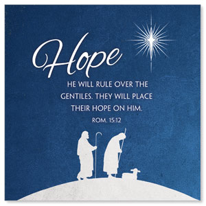 Advent Hope Window Banners