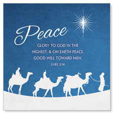 Advent Peace Window Banner