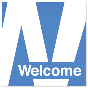 Metro Welcome Window Banners