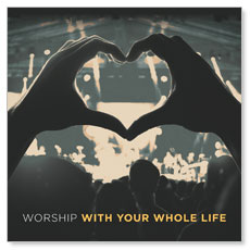 Worshiper Heart Window Banner