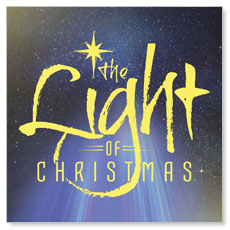 The Light of Christmas Window Banner