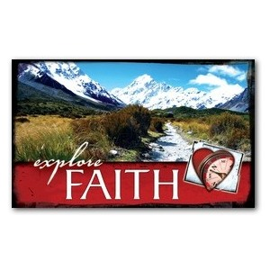 Explore Faith WallBanners
