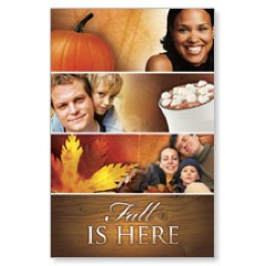 Fall Is Here Banner