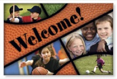 Kids Sports WallBanners