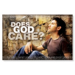Does God Care WallBanners