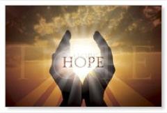 Hope Hands Banner