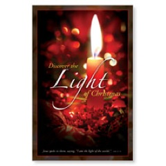 Discover Christmas Light WallBanners