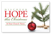 Hope Christmas Tree WallBanners