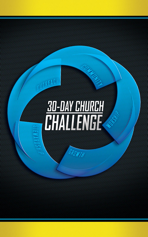 30-day church challenge banner - church banners