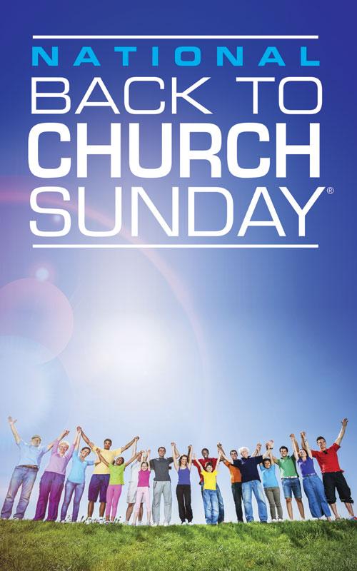 Church Banner Back To Church Sunday 2013 5 X 8