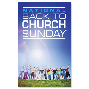 Back To Church Sunday 2013 Banners
