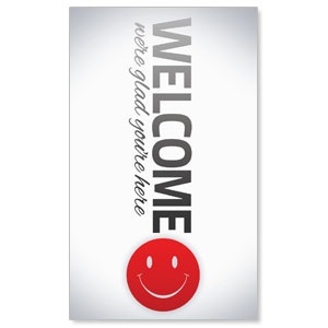 Pin Stripe Welcome WallBanners