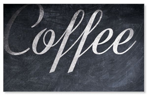 Coffee Chalk Banners