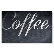 Coffee Chalk Banner