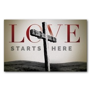 Love Starts Here Banners