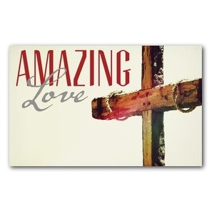 Amazing Love Cross WallBanners