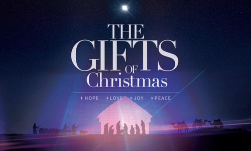 The Gifts Of Christmas Advent Banner Church Banners