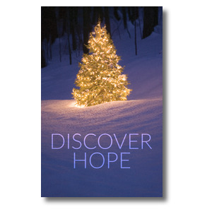 Discover Hope Bright Tree WallBanners