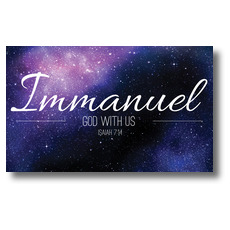 Immanuel Isaiah 7:14 Banner