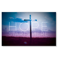 Hope Starts Here Banner