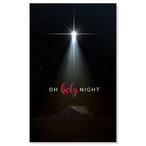 Oh Holy Night WallBanners