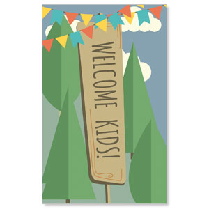 Woodland Friends Welcome Banners