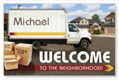 WelcomeOne Truck New Mover Card