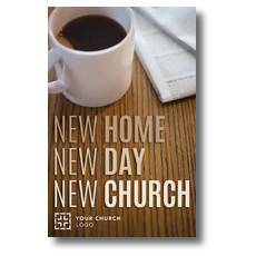 WelcomeOne Coffee Cup New Mover Card