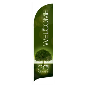Deeper Roots Welcome Banners