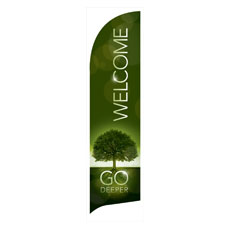 Deeper Roots Welcome Banner