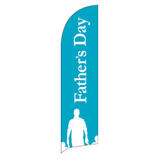 Fathers Day Flag Banner