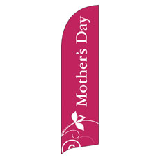 Mothers Day Flag Banner