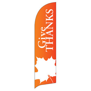 Thanksgiving Flag Banners