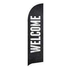 Slate Welcome Banner