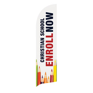 Enroll Pencils School Banners