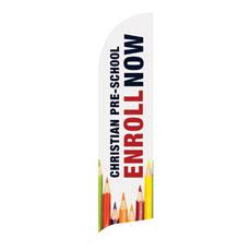 Enroll Pencils Pre School Banner