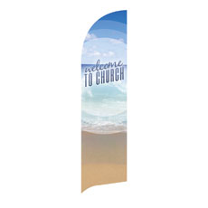 Season Welcome Ocean Banner