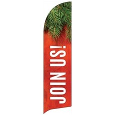 Tis The Season Join Us Banner