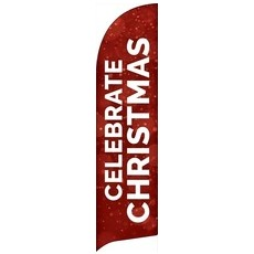 Red Sparkle Christmas Banner