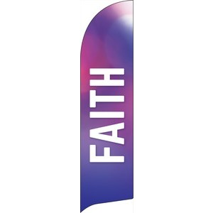Vibrant Color Faith Banners