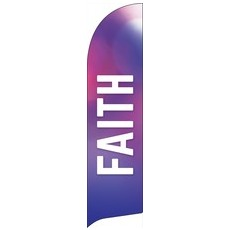 Vibrant Color Faith Banner