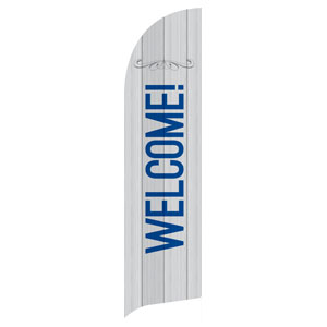 Painted Wood Welcome Banners