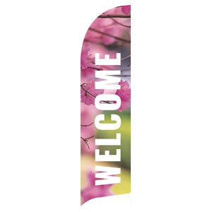 Season Photos Spring Flag Banner