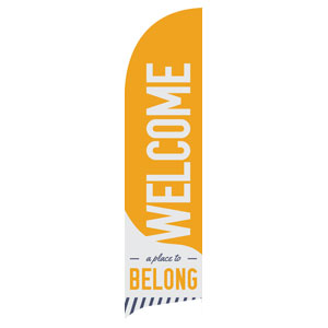 To Belong Yellow Banners