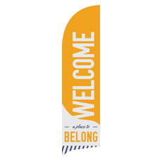 To Belong Yellow Banner