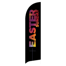 Easter Black and Bright Banner