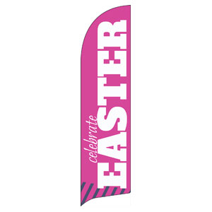 Celebrate Easter Pink Banners