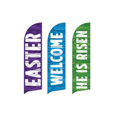 Easter Welcome Set Banner
