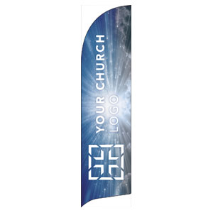 Sunrays Logo Flag Banner