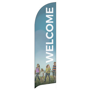 BTCS People Welcome Banners